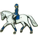 "Lapel Pin ""Dressage Trot"""