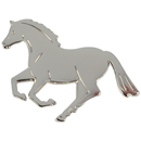 "Lapel Pin ""Canter"", silver"