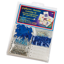 Cardmaking Kit with 5 Cards, blue