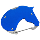 "Pocket Knife ""Horse Head"", blue"