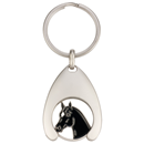 "Coin Holder with Coin ""Horse Head"""