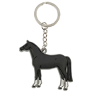 "Soft Keyring ""Black Horse"""