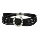 "Bracelet ""Horseshoe"", black"
