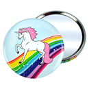 "Pocket Mirror ""Unicorn"""