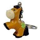 "Polyresin Keyring ""Good Luck"""