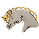 "RUBIN ROSS Brooch ""Horse Head"""