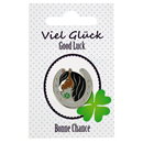 "Lapel Pin ""Good Luck"""