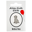 "Dog Lapel Pin ""All the Best"""