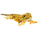 "Plush Animal ""Bearded Dragon"", yellow"