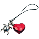 "Charm ""Turtle with Heart"""