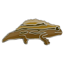 "Lapel Pin ""Stump-Tailed Chameleon"""