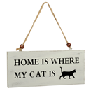 "Wooden Sign ""Cat"""