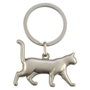 "3D Keyring ""Walking Cat"""