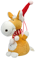 "Charm ""Christmas Horse with Scarf"""