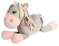 "Plush Horse ""White Star"""