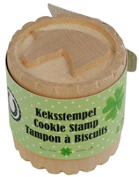 "Wooden Cookie Stamp ""Lucky Horses"""