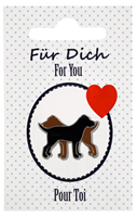 "Dog Lapel Pin ""For You"""